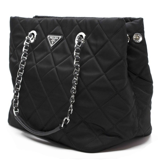 d52f286fd219 Prada Bags | New Quilted Logo Tote | Poshmark